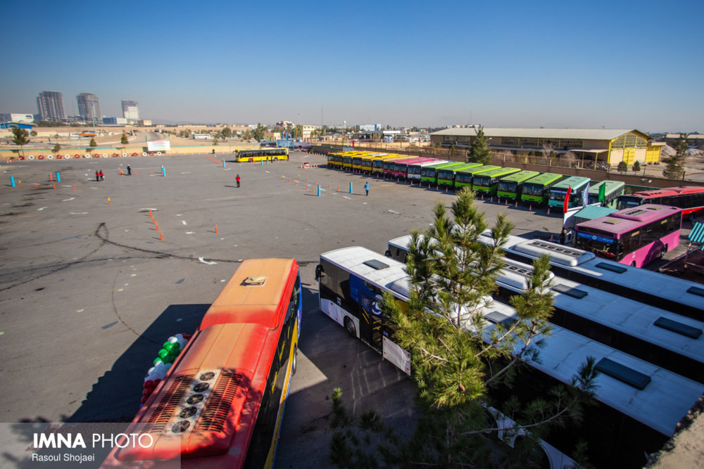 فعال شدن سرویسدهی اتوبوسرانی اصفهان به آرامستان باغ رضوان از هفته جاری