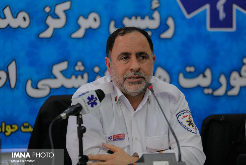 ۴۵۰۰ بیمار مربوط به کرونا را در اصفهان جابجا کردیم