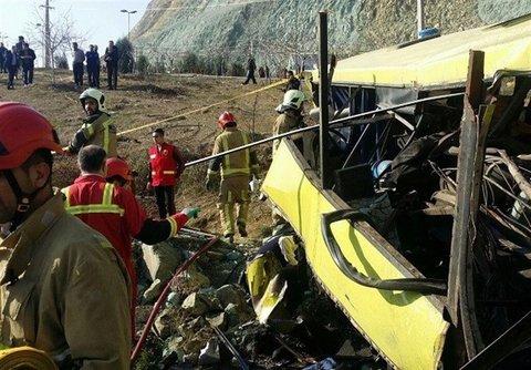 هیچ یک از مصدومان تصادف اتوبوس حامل سربازمعلمان فوت نشدهاند