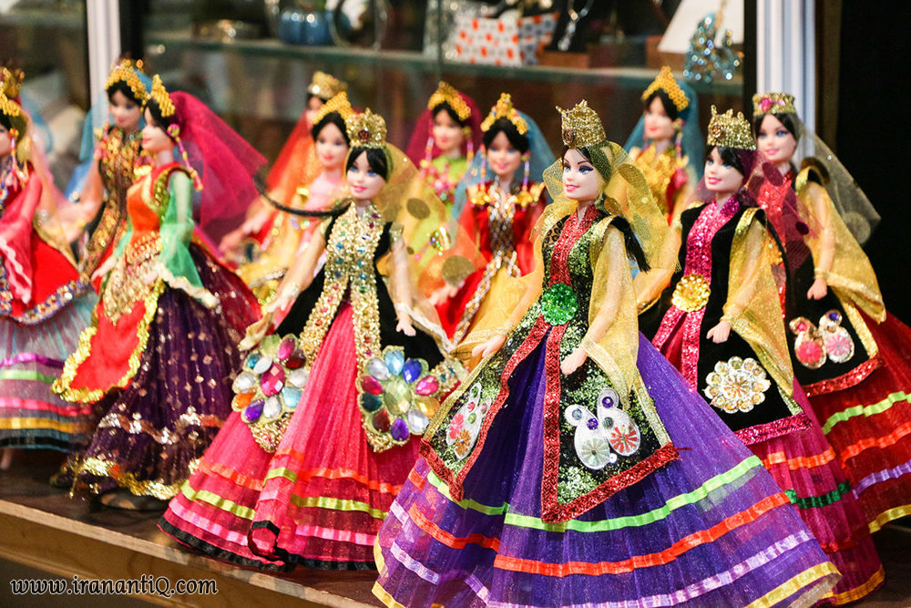 Cultural domination practices for Iranian dolls lead to mass production