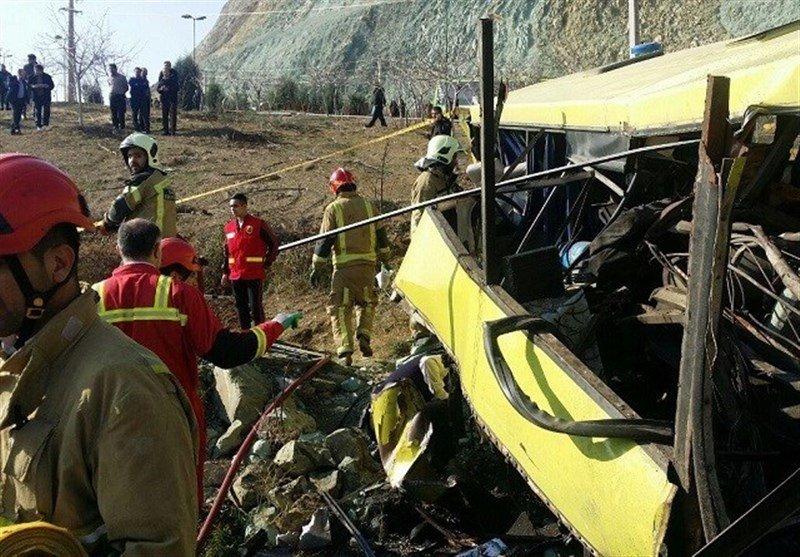 ۲۲ کشته و زخمی در حادثه رانندگی محور بویینمیاندشت - خوانسار