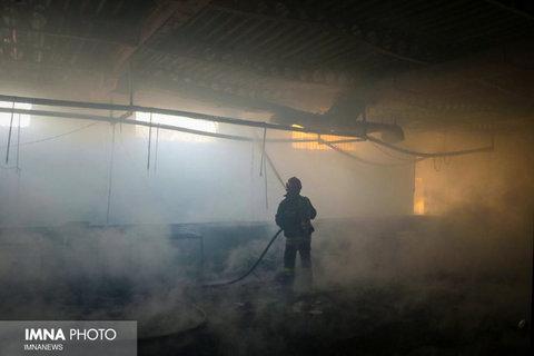 آتشسوزی بیمارستان میلاد اطفاء شد