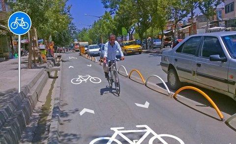 بهرهبرداری از فاز نخست مسیر ویژه دوچرخه در مشهد