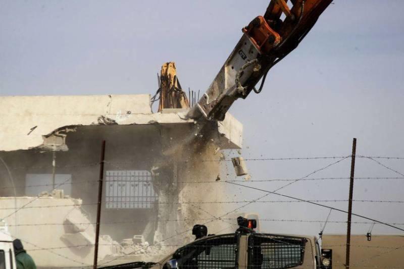 صهیونیستها بیش از ۵۳۸ باب منزل فلسطینیها را تخریب کردند