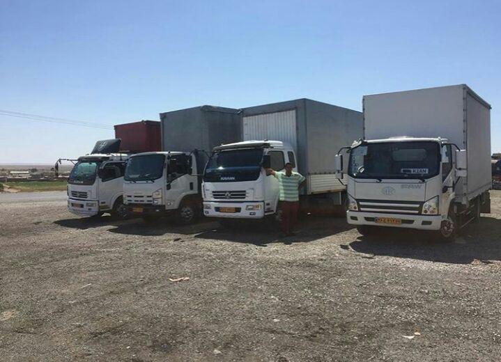 درخواست حمل بارهای سبک و سنگین در اصفهان با نرم افزار