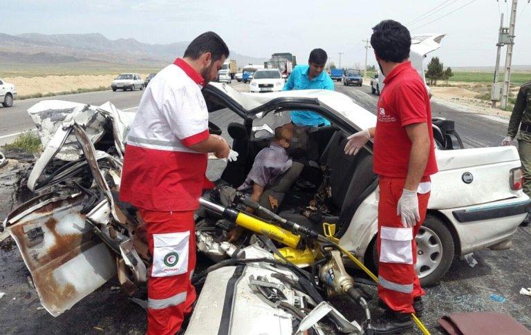 ۵۶ تیم عملیاتی هلال احمر به ۱۰۰ نفر آسیب دیده امداد رسانی کردند