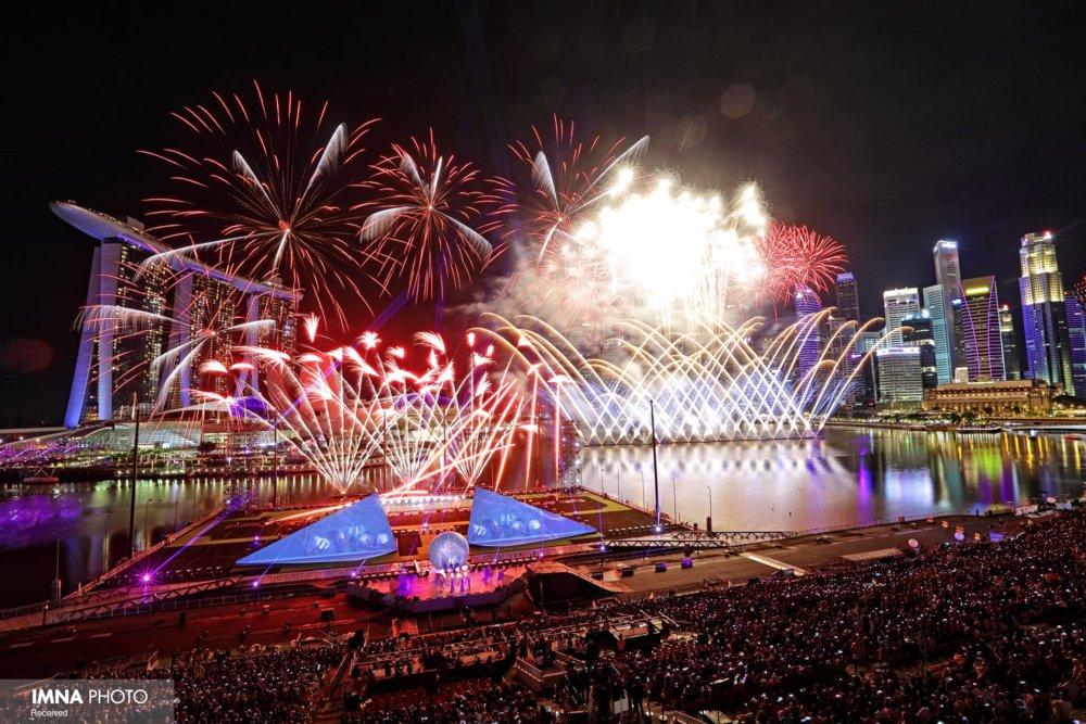 جشن سال نو میلادی در سراسر جهان