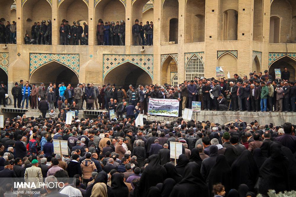 امینی: دولت، اصفهان را به سخره گرفته است