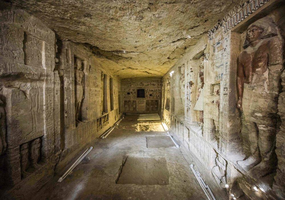 در مقبره کاهن اعظم مصر چه خبر است؟