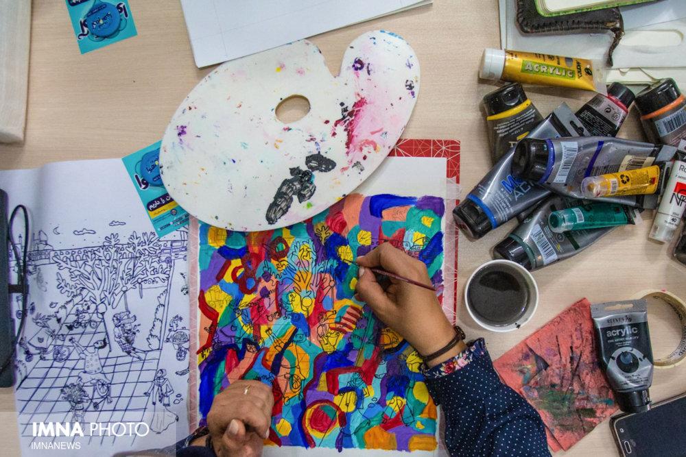 هوای پاک بهانهای برای ابراز هنر هنرمندان
