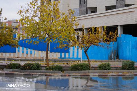 آمادهباش اکیپهای رفع آبگرفتگی در مناطق ۱۵گانه اصفهان