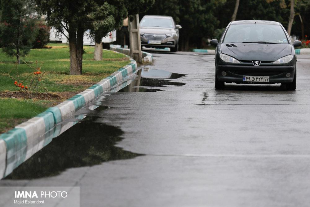حقانی: حتی یک مورد آب گرفتگی در شهر نداشتیم
