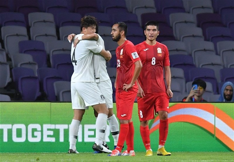 کره جنوبی با پیروزی بر لبنان، جای ایران در صدر جدول را گرفت