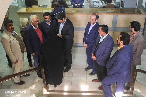 دیدار شهردار از شهرداری منطقه 4 اصفهان