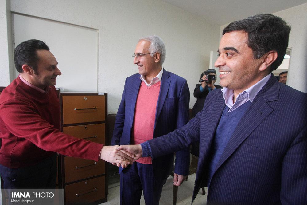 بازدید شهردار اصفهان از منطقه ۴