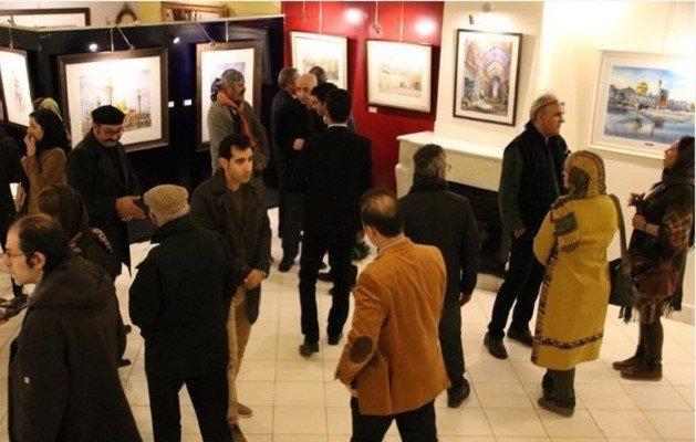 آثار هنرمندان جوان در گالری نگاه نو