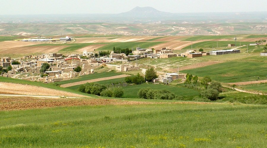 Aghcheh; Kartvelian village in Isfahan
