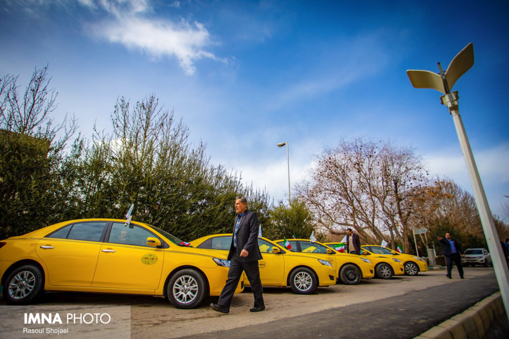افزایش سهمیه سوخت تاکسی های فرودگاه اصفهان