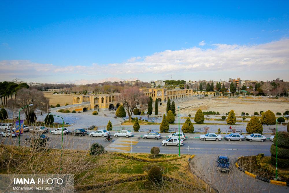 امروز هوای اصفهان سالم است