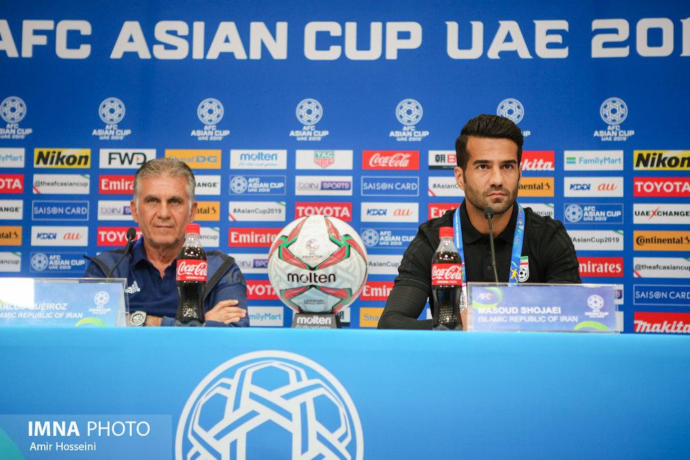 نشست خبری پیش از بازی ایران و عمان