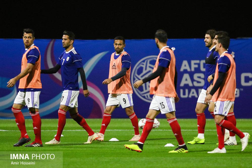 آخرین تمرین تیم ملی ایران پیش از بازی با عمان