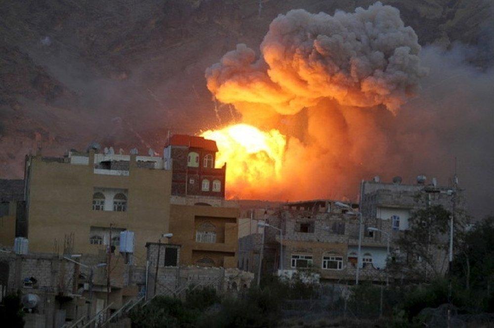 جنگندههای ائتلاف سعودی ۲۸ بار یمن را بمباران کردند