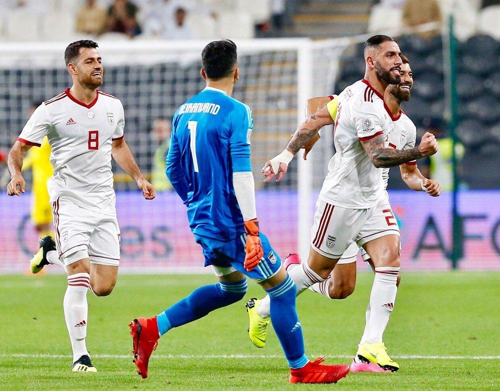 ترکیب تیم ملی ایران با دو تغییر اعلام شد
