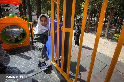 بهرهبرداری از نخستین بوستان موضوعی کودک در مشهد