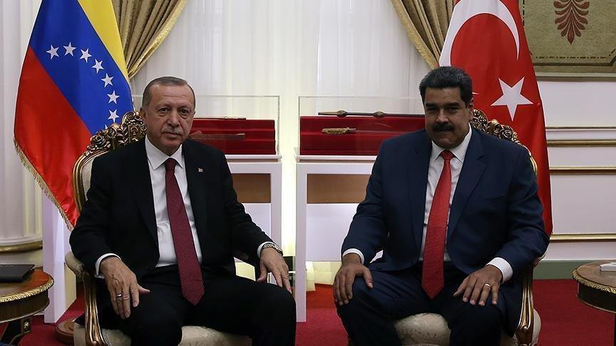 حمایت اردوغان از مادورو
