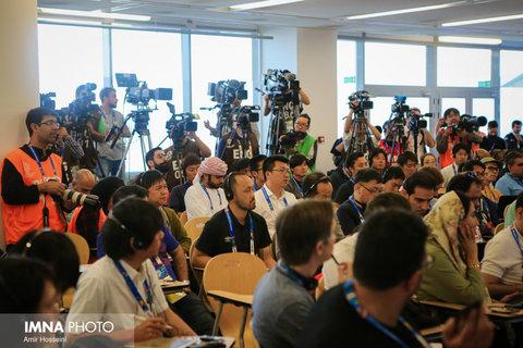 نشست خبری کیروش پیش از بازی با ژاپن