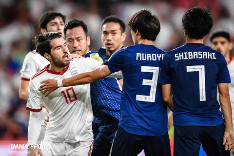 دیدار تیم های ایران و ژاپن