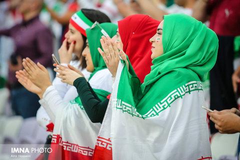 بازی ایران و کامبوج؛ زنان نقطه مقابل مردان!