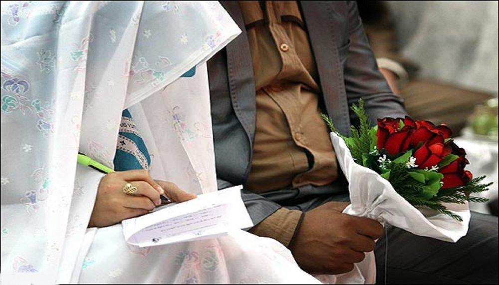رشد ۴.۴ درصدی ازدواج در سال کرونایی ۹۹