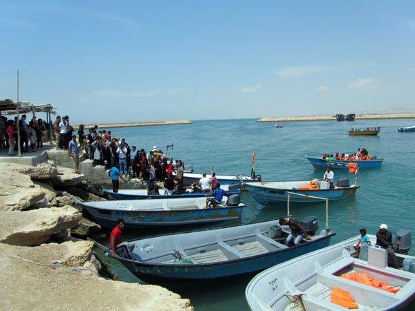 نگرانی از افزایش مسافران زمستانی در جزایر کیش و قشم