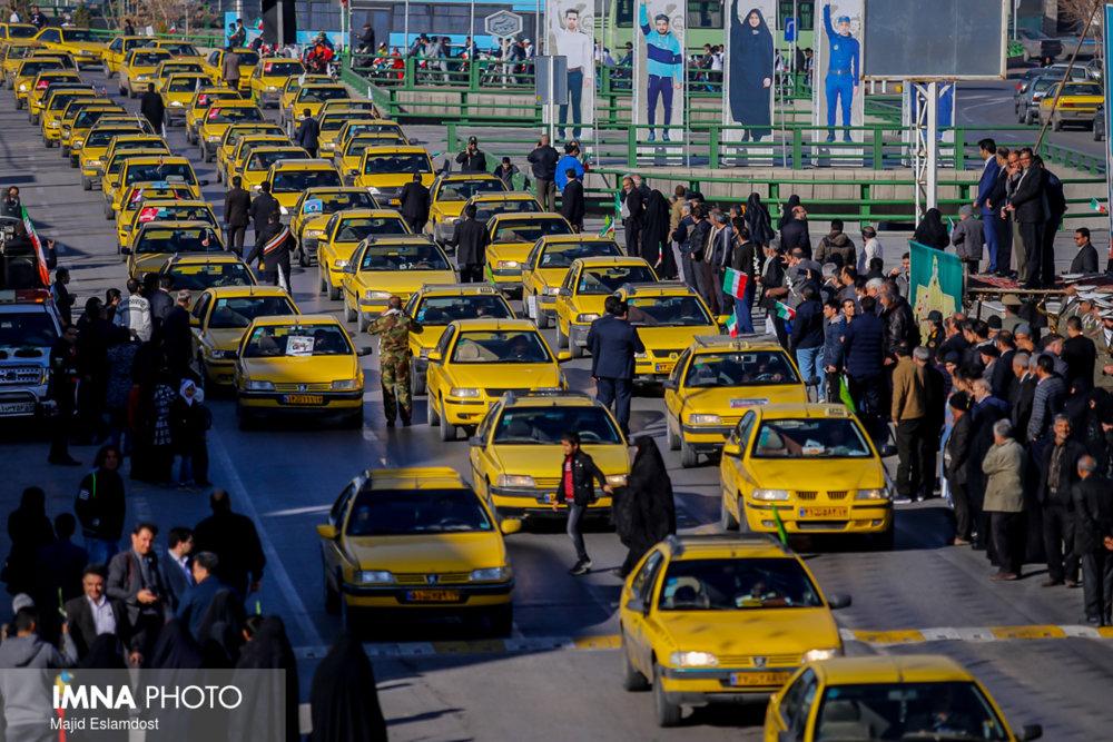 بیمه ۲۵ هزار راننده تاکسی در انتظار بهروز رسانی لیست تامین اجتماعی