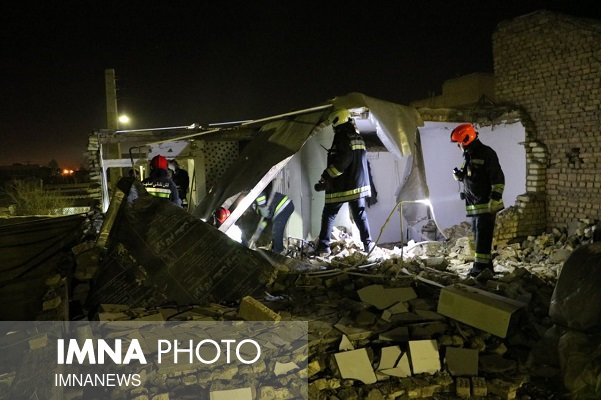 سه زن در انفجار گاز منزل مسکونی مصدوم شدند