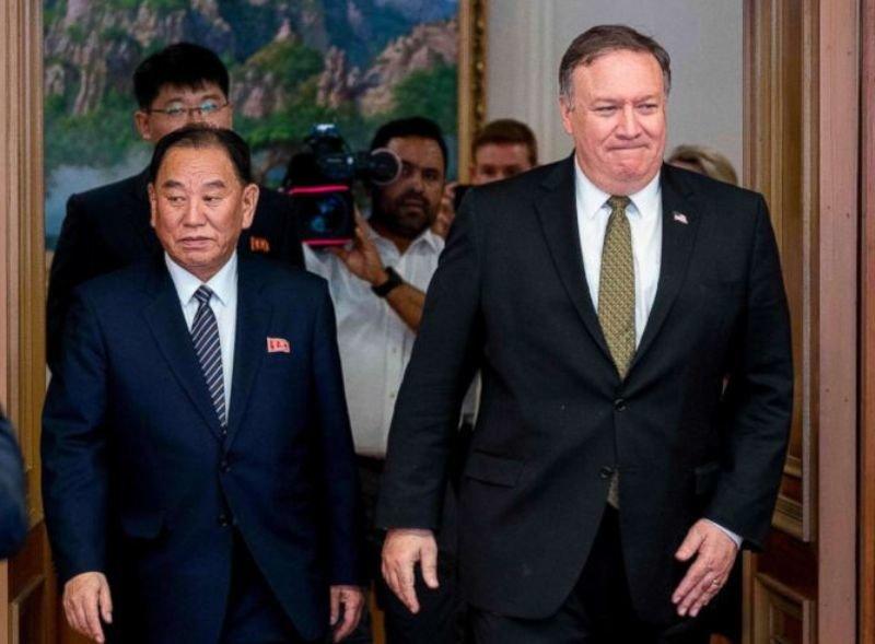 مذاکرات اخیر آمریکا و کرهشمالی بینتیجه بود