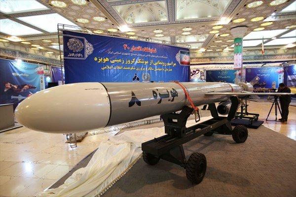 Iran unveils long-range Hoveyzeh cruise missile