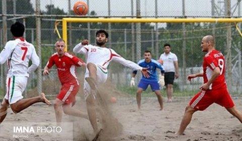 تیم ملی فوتبال ساحلی ایران در رده دوم جهان قرار دارد