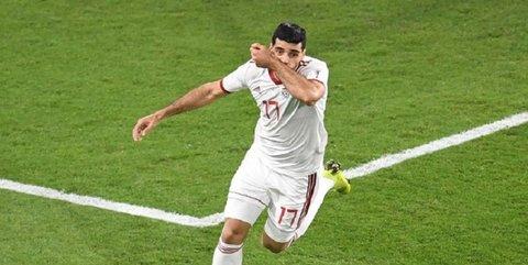 گل طارمی به یمن بیستمین گل برتر جام ملتها از دید فاکس اسپورت