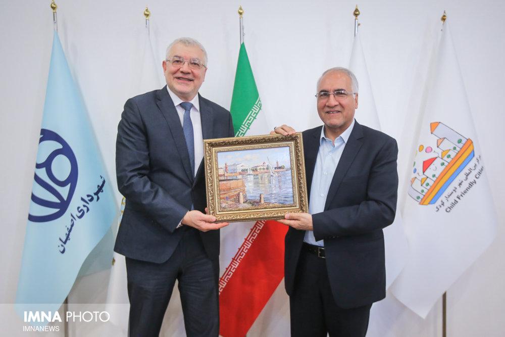 دیدار سرکنسول فدراسیون روسیه در اصفهان با شهردار