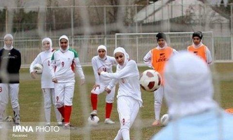 اعزام ۴ بانوی فوتبالیست اصفهان همراه تیم ملی به ویتنام