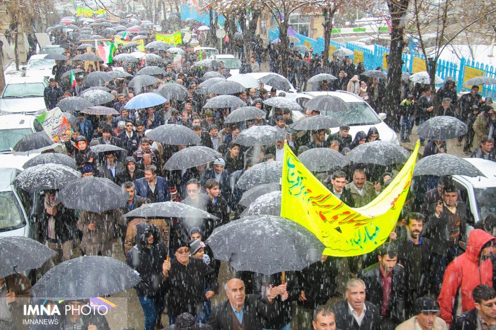 چهلمین حماسه مردمی در ۲۲ بهمن ماه سمیرم