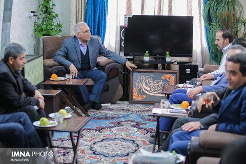 دیدار شهردار با خانواده شهیدان خانعلی و هاشمی - ۲۳ بهمن ۱۳۹۷