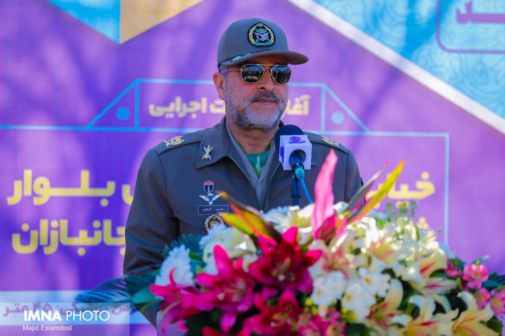 حاصل تعامل ارتش با شهرداری توسعه اصفهان است