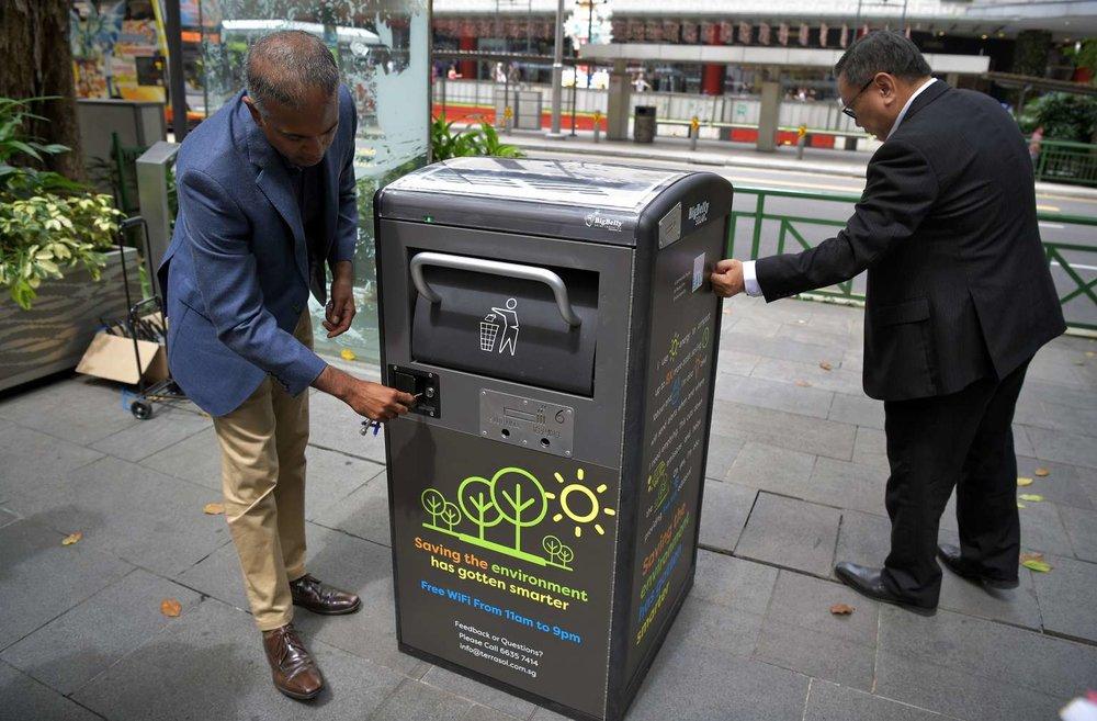 سطلهای هوشمند؛ تحولی در سیستم بازیافت