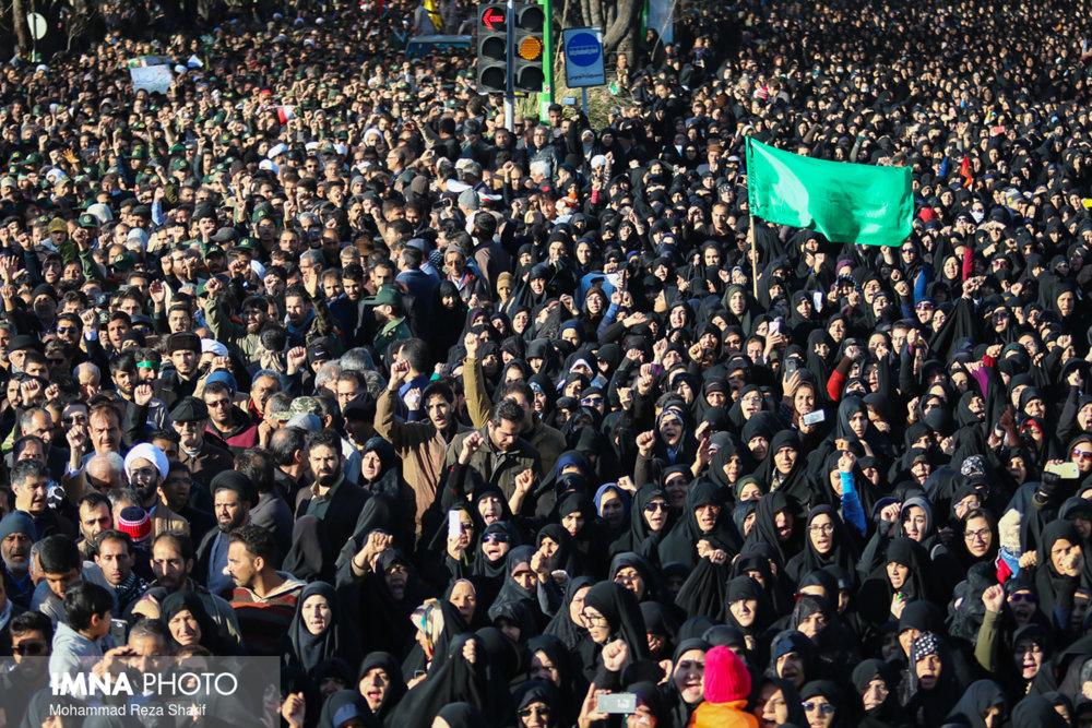 پیام تشکر لشکر ۱۴ امام حسین (ع) از مردم اصفهان
