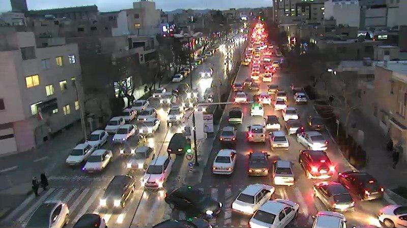 ترافیک در محدوده میدان آزادی