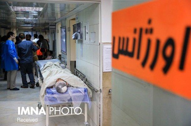 مراجعات اورژانس اصفهان ۲۲ درصد افزایش یافت