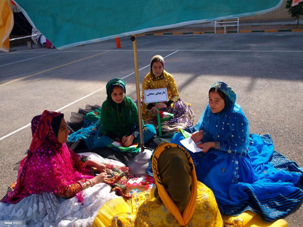 رقابت ۱۹۰ مهربانوی شهر سمنان در جشنواره بازیهای کودکی